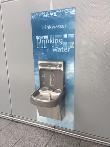 Elkay Trinkbrunnen mit automatischen Wand-Flaschenbefüller - LZS8WSS2K