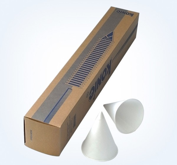 1 Stange Spitzbecher Papier Stange á 200 Stck. 133 ml
