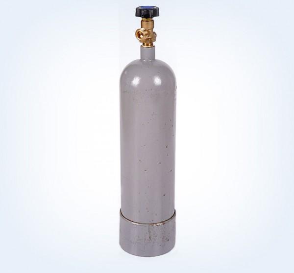 C02 Flasche 2kg (Abb. ohne Cage)