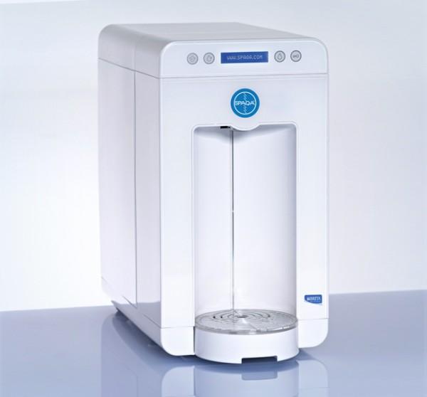 Servomat-Steigler Spaqa Design-Wasserspender weiß mit LED Beleuchtung