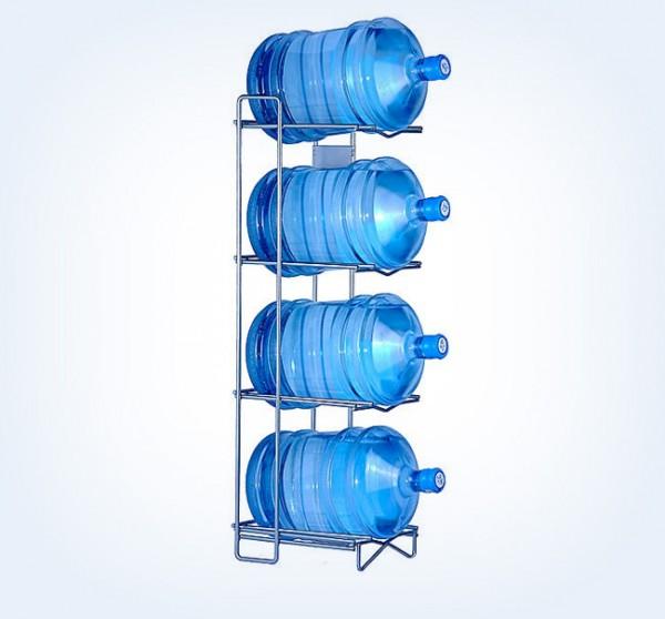 Flaschenregal für Wassergallonen (18,9 L. Wassergallonen)
