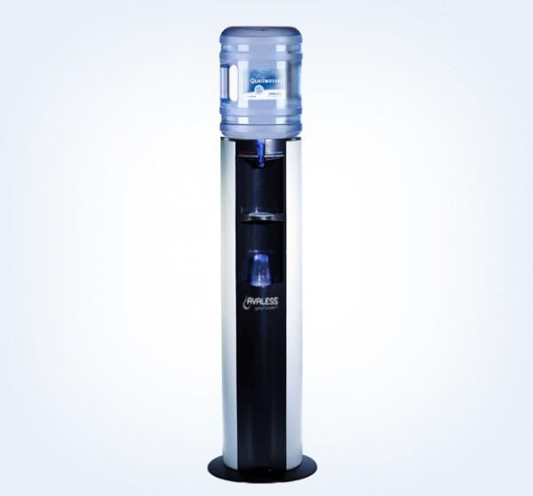 FMax Watercooler mit silbernen Seitenblenden für 18,9 Liter Watergallonen