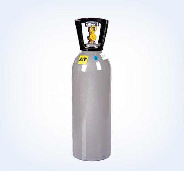 10 kg C02 Kurzflasche (Abb. m. Cage)